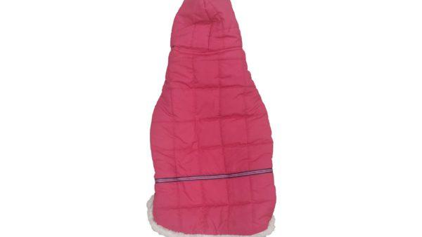 Barks & Wags Red Fur Hood Jacket