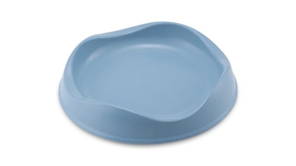 Beco Pets Bamboo Cat Bowl - Blue