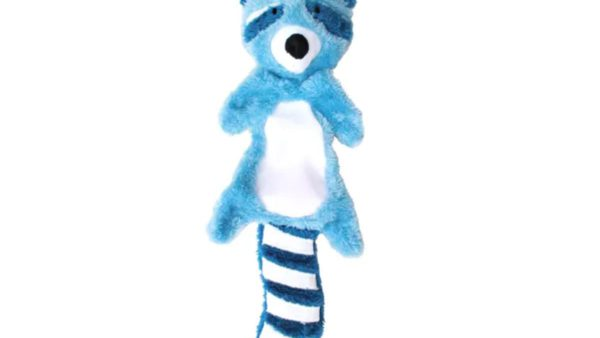 Beco Pets Randy the Raccoon Stuffing Free Dog Toy