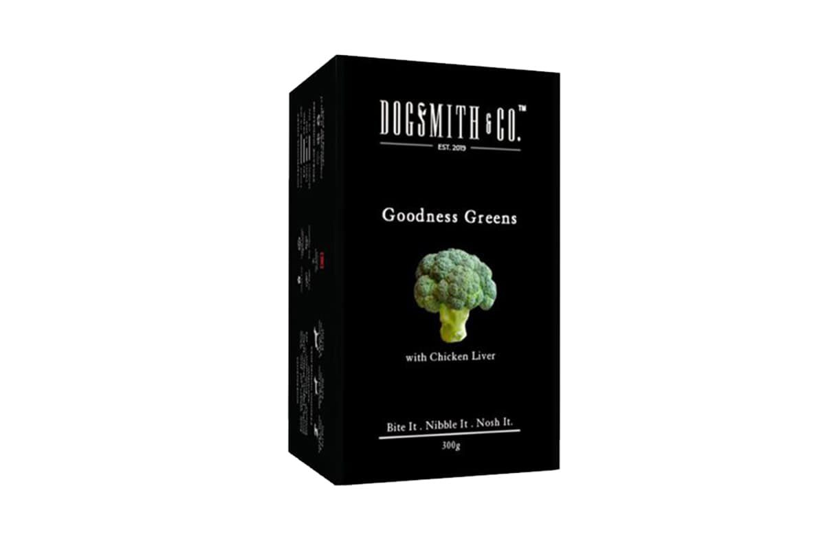 Dogsmith & Co. Goodness Greens Dog Biscuits, 300 gms-c1-pichi