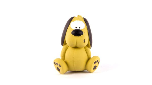 FOFOS Bi Toy Dog Latex Dog Toy - Small