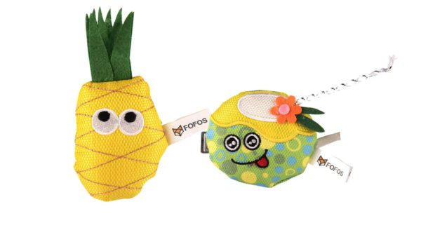 FOFOS Summer Juice with Pineapple Cat Toy