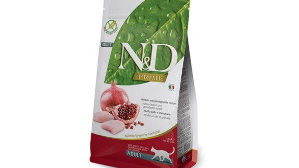 Farmina N&D Prime Grain Free Chicken & Pomegranate Adult Cat Food