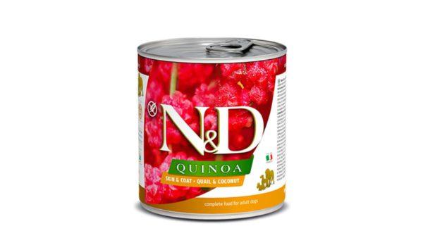 Farmina N&D Quinoa Adult Wet Dog Food Skin & Coat (Medium & Maxi Breeds), 285 gms
