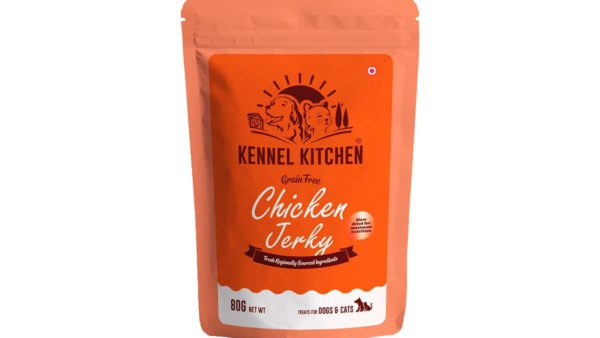 Kennel Kitchen Chicken Jerky Dog & Cat Treats, 80 gms