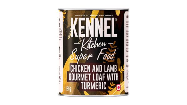 Kennel Kitchen Chicken and Lamb Gourmet Loaf with Turmeric (All Breeds and Sizes)