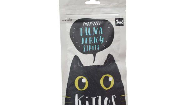 Kittos Tuna Jerky Strips Cat Treats (Pack of 2)