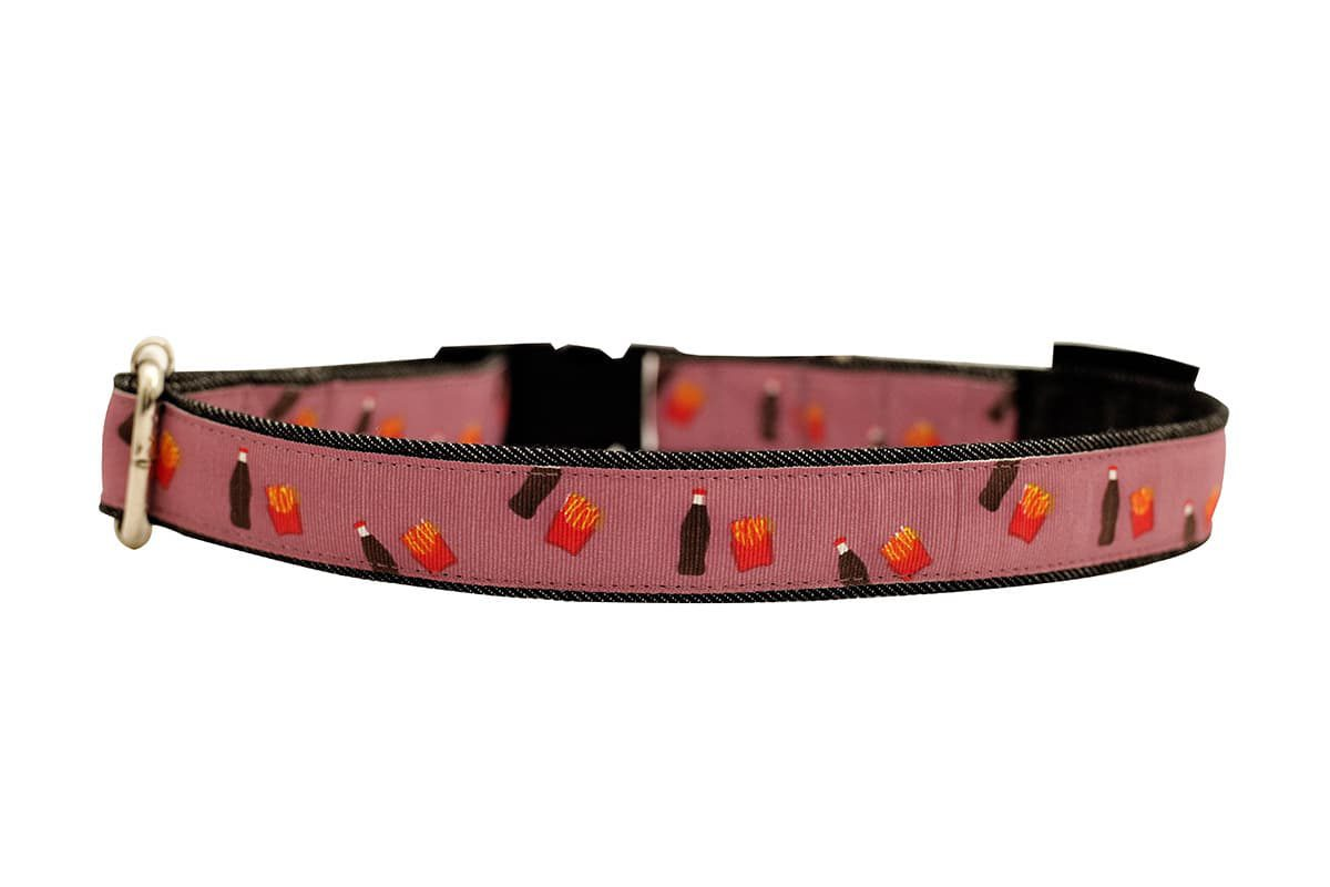 Mutt Ofcourse Cola & Fries Dog Collar