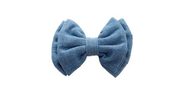 Mutt Ofcourse Light Blue Denim Bow