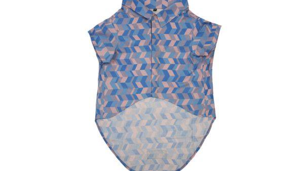 Mutt Ofcourse Light Geometrical Dog Shirt