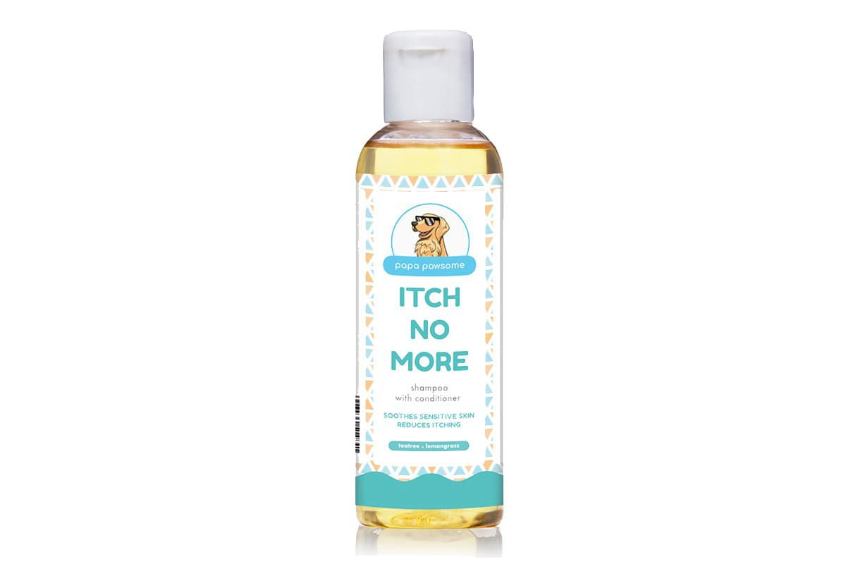 Papa Pawsome Itch No More Shampoo with Conditioner for Dogs, 250 ml