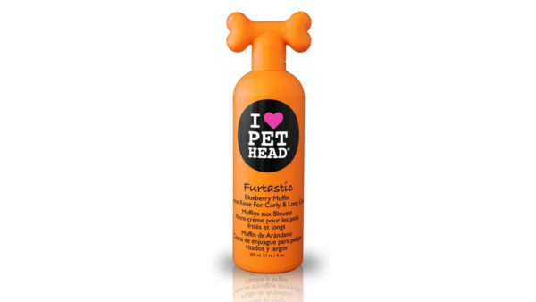 Pet Head Furtastic Creme Rinse Conditioner For Curly And Long Coats 475 ml,