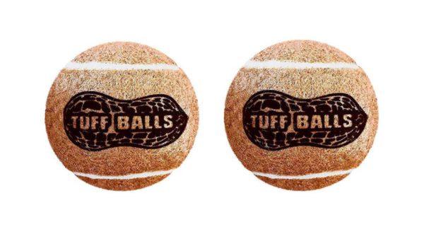 Petsport Jr. Peanut Butter Tuff Ball Dog Toy 2 Pack