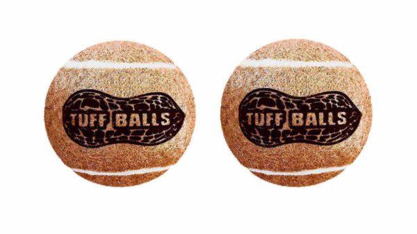 Petsport Regular Peanut Butter Tuff Ball Dog Toy 2 Pack
