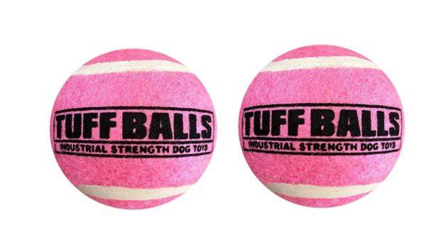 Petsport Tuff Ball Dog Toy 2 Pack -  Pink