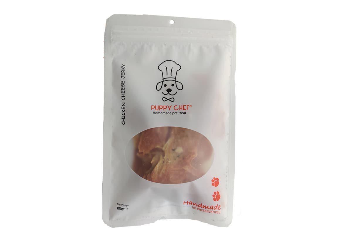 Puppy Chef Handmade Chicken with Cheese & Parsley Dog Treats