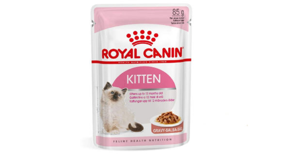 Royal Canin Kitten Instinctive Gravy Salsa Pack, 85g
