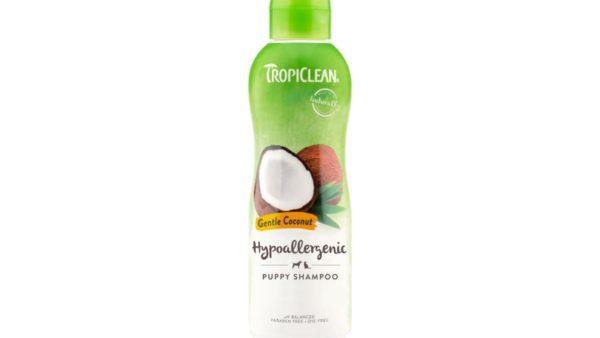 TropiClean Hypo-Allergenic Gentle Coconut Puppy & Kitten Shampoo, 355 ml