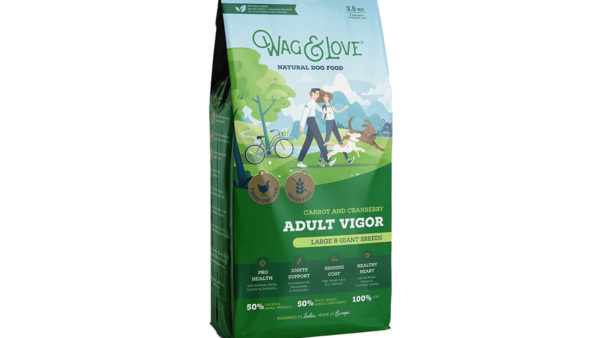 Wag & Love Adult Vigor Grain Free Dry Dog Food (Large & Giant Breeds)
