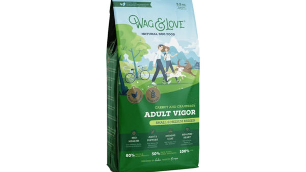Wag & Love Adult Vigor Grain Free Dry Dog Food (Small & Medium Breeds)