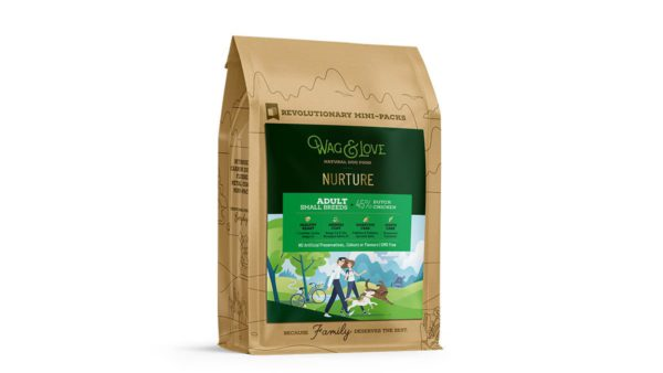 Wag & Love Nurture Adult Dry Dog Food (Small & Medium Breeds)