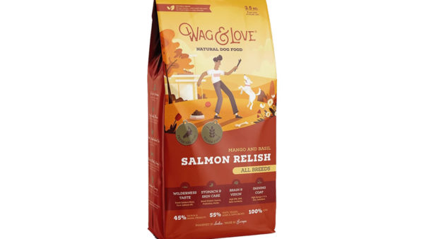 Wag & Love Salmon Relish Grain Free Dry Dog Food (All Breeds & Life Stages)