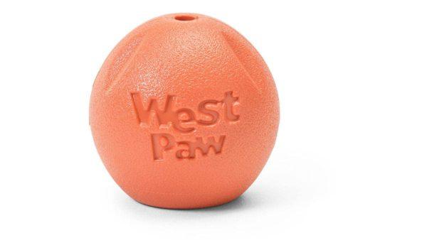 West Paw Zogoflex Echo Rando Dog Toy - Orange