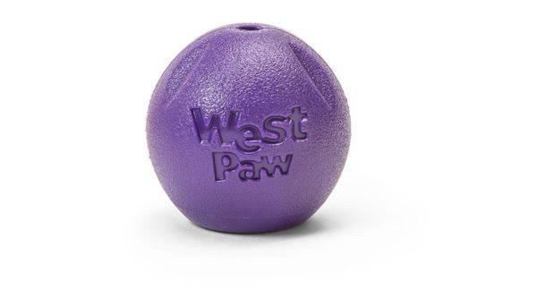 West Paw Zogoflex Echo Rando Dog Toy - Purple