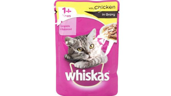 Whiskas Wet Meal Chicken in Gravy for Adult Cats, (12 x 85g) 1.02 kg
