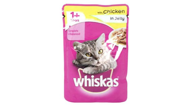 Whiskas Wet Meal Chicken in Jelly for Adult Cats, (12 x 85g) 1.02 kg