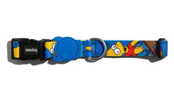 Zee.Dog Bart Simpson Dog Collar