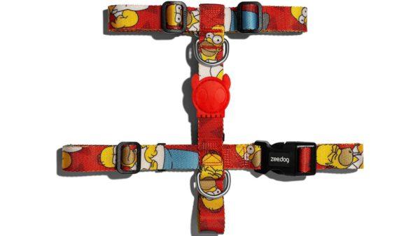 Zee.Dog Homer Simpson Dog H-Harness