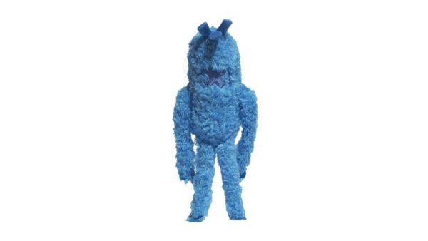 Zee.Dog Monsterz Blu Plush Dog Toy