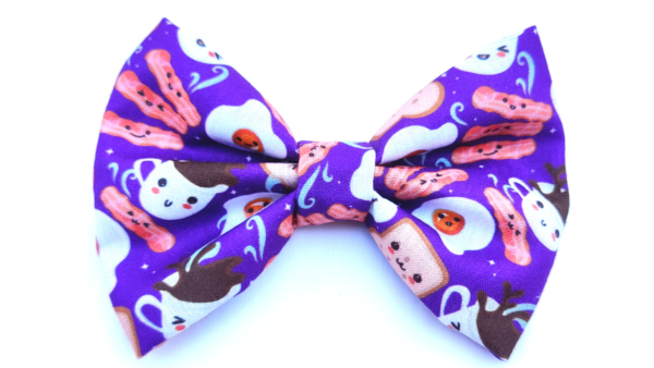 Hazel&Co Breakfast Themed Bowtie for Dogs