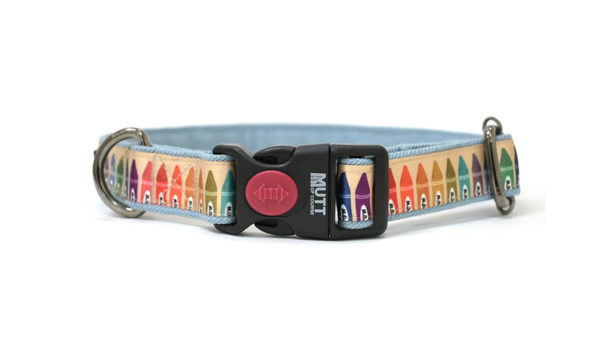 Mutt Ofcourse Woofy Colours Dog Collar