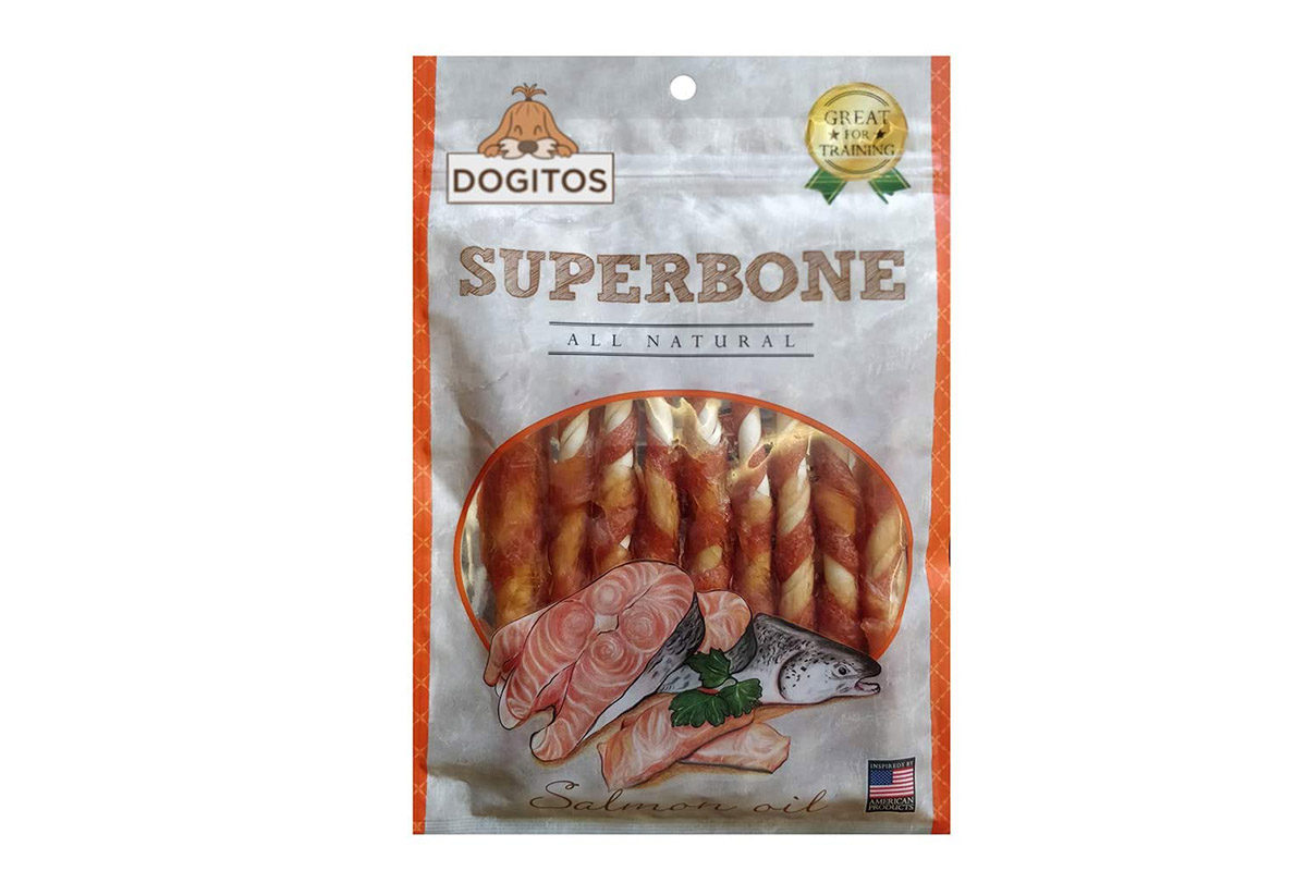Petaholic Superbone Chicken Stick with Salmon Oil Dog Treat, 185 gms